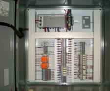 PANEL FOR A WASTEWATER LIFT STATION