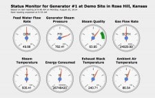FlexMetrics Remote Dashboard For Your Steam Generator