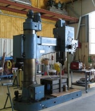 "60"" radial arm drill"