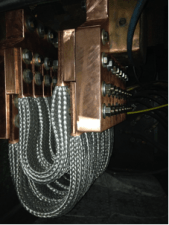 16 cables rated at 900 amps each