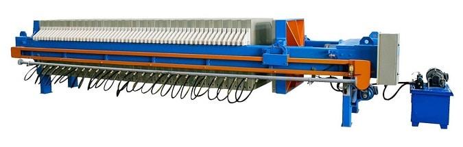 Streamlining a filter press