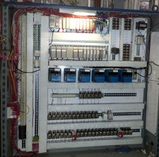 The redesigned control cabinet