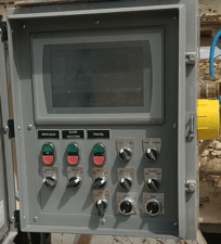 Stone Saw RetroFit HMI Cabinet